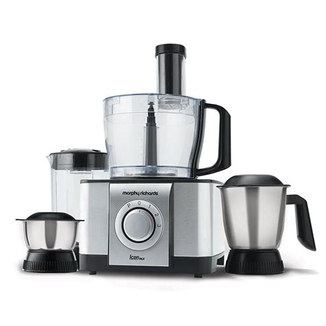 Best Buy Toasters Buy Morphy Richards Icon Dlx Food Processor Online At Best