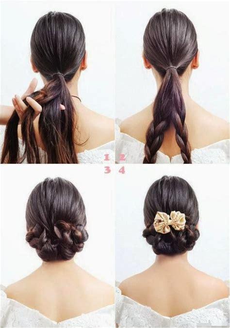 coiffure simple et facile pour femme coiffure 2014