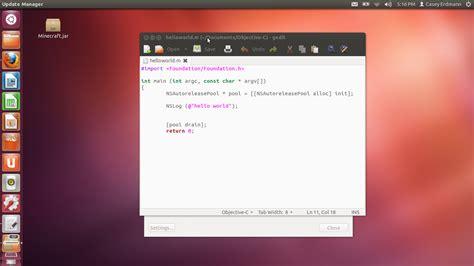 tutorial ubuntu terminal software installation how to compile build and run