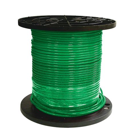 southwire 1000 ft 8 green stranded cu thhn wire 20492506