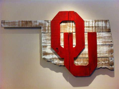 wooden state  oklahoma  ou logo