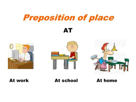 preposition of place ppt