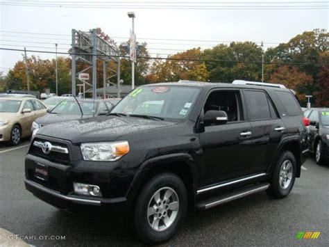 Toyota 4runner Sr5 2012 Black 2012 Toyota 4runner Sr5 4x4 Exterior Photo 72682123