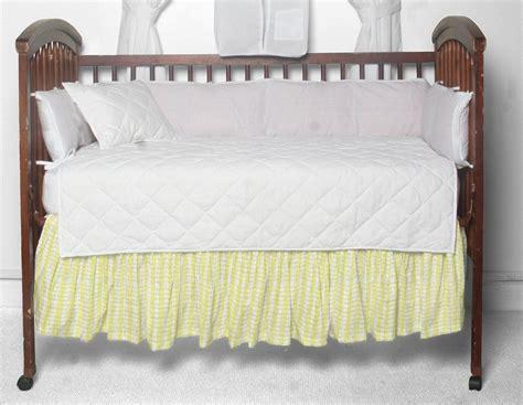 Yellow Crib Dust Ruffle by Half White With Light Yellow Fabric Dust Ruffle Crib Pale