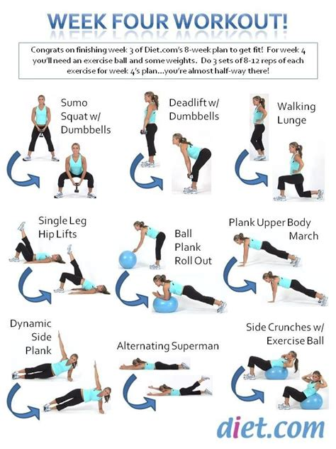 fitness challenge exercises 9 best images about 8 week fitness challenge on