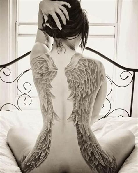 100 Astonish Wing Tattoo Designs To Draw Wings On Back Tattoos 2