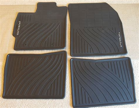 sold 2010 all weather floor mats for sale priuschat