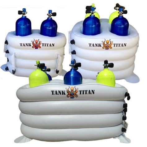 scuba tank holders for boat tank titan inflatable dive tank holder tt