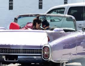 Kendall Cadillac Kendall Jenner Cruises In Convertible Cadillac In La