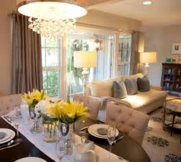Living Room Opens Into Dining Room Best 25 Living Dining Combo Ideas On Small