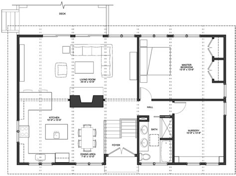 kitchen and living room floor plans better space instead of more space frank mccarthy