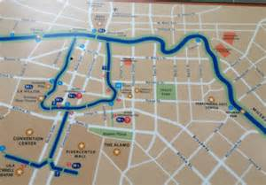 best photos of san antonio riverwalk detailed map