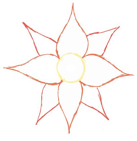 Simple Flower 17 best ideas about simple flower drawing on