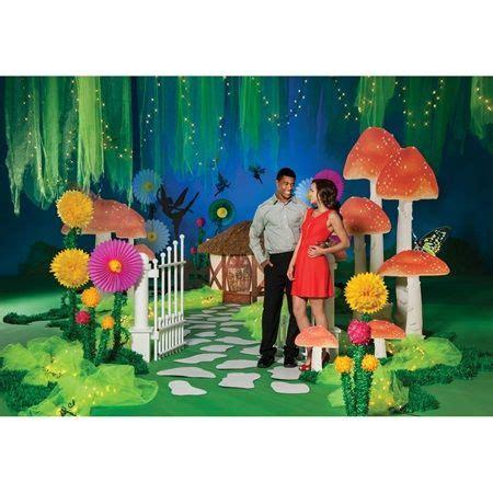 theme line alice in wonderland fairyland complete theme prom backdrop alice in