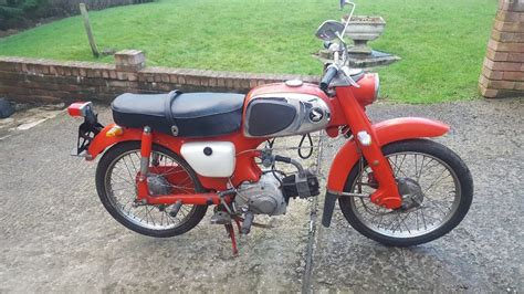 50ccm Motorrad Honda by 1964 Honda C110 50cc Motorcycle Low Never