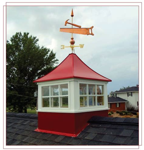 wind vinyl cupolas with windows to adorn your barn
