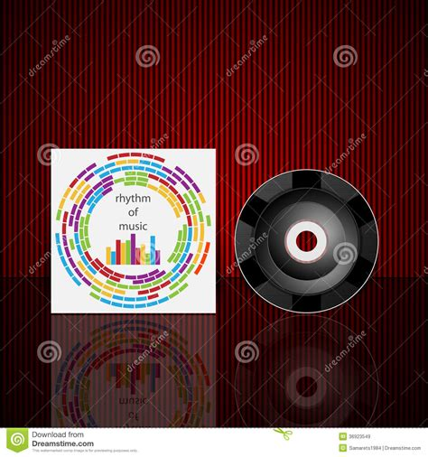 layout cd vector vector cd cover design template royalty free stock images