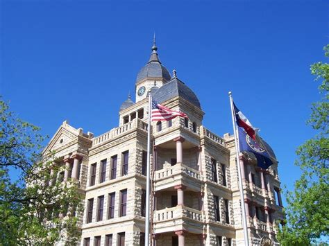 Denton Tx Court Records Denton Tx Denton County Courthouse Photo Picture Image At City Data