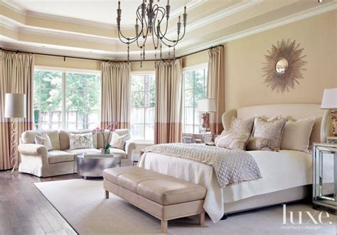 cream transitional french inspired master bedroom luxe