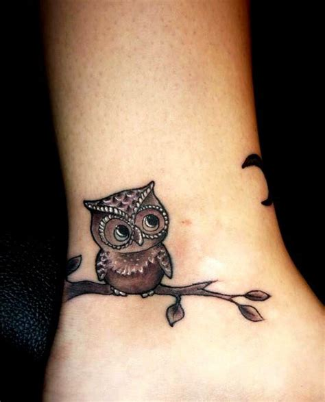 baby owl tattoo design baby owl tattoo thinking about the ink pinterest