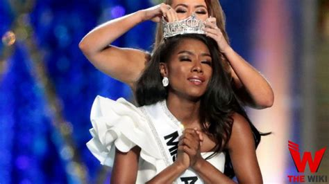 nia imani franklin college nia imani franklin miss america height weight age