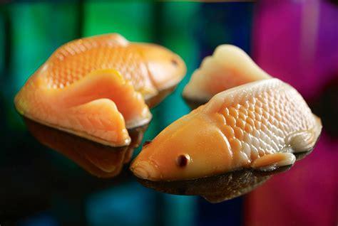 koi fish and new year mitzo prosperity yu sheng pen cai koi fish nian gao
