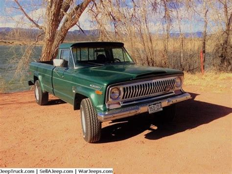 Jeep Gladiator Parts 1973 Jeep Gladiator J4000 Listed At Http