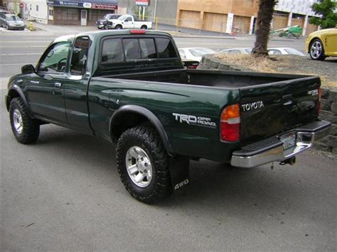 1999 Toyota Tacoma 4x4 1999 Toyota Tacoma Xtracab Sr5 Trd 4x4 For Sale In Seattle