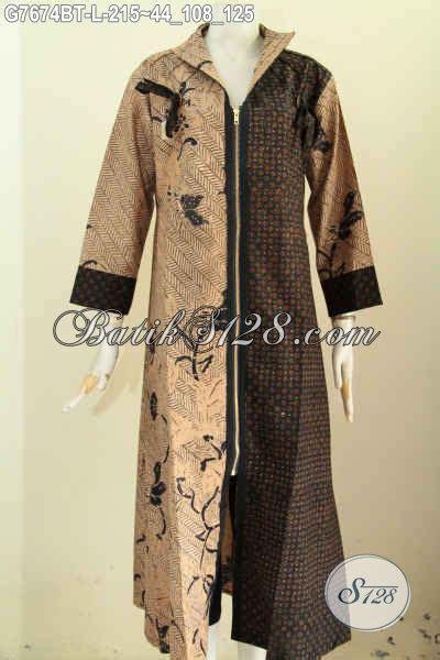 Gp223 Dress Gamis Motif Dress batik gamis dress wanita muda dan dewasa busana