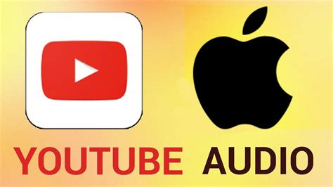 play youtube audio  background  iphone  ipad