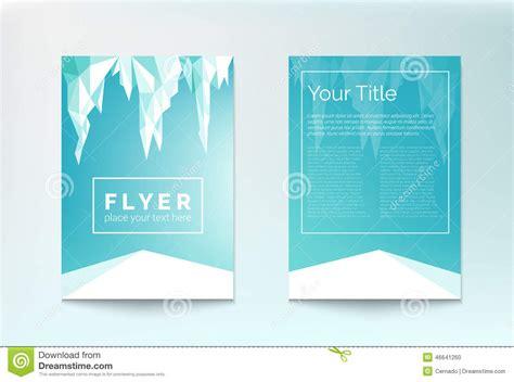 winter flyer stock vector image 46641260