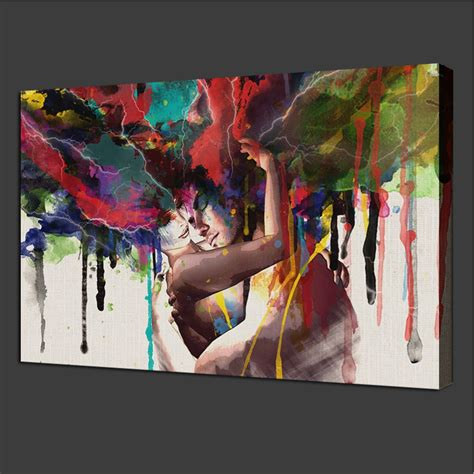abstract art home decor unframed canvas print room wall art pictures home decor