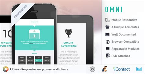 yahoo ecommerce templates omni responsive e mail template needmytheme