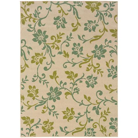 outdoor rugs adelaide home decorators collection adelaide beige 7 ft 10 in x
