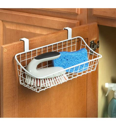 wire baskets for kitchen cabinets white over the cabinet wire basket in cabinet door organizers