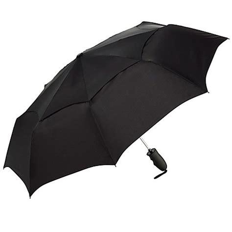 bed bath beyond umbrella shedrain 174 windjammer vented auto open compact umbrella in