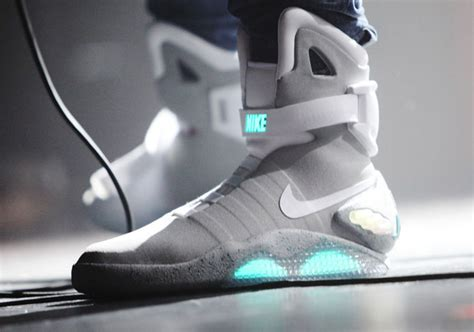 Nike Back To The Future self lacing nike mags are in nyc sneakernews