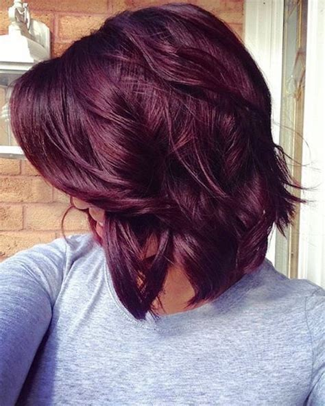 violet hair color for medium hair ideas μαλλιά