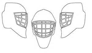 goalie mask painting template official quot help design a mask quot thread goalie store