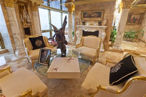inside trump s penthouse peek inside melania trump s penthouse celebrity cribs