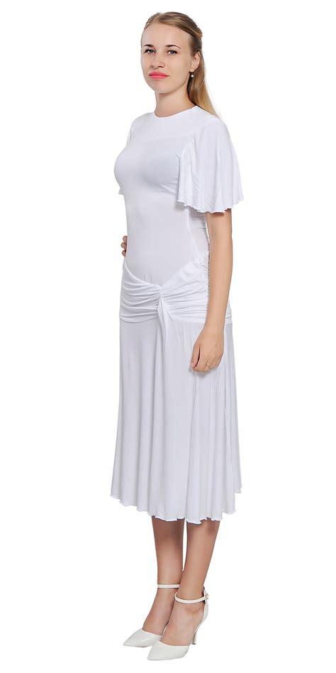 Dress Rumbai Retro 96 womens drop waist midi vintage retro swing 1920s
