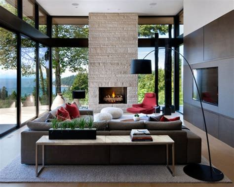 contemporary livingrooms modern rustic living room design decor modern living room
