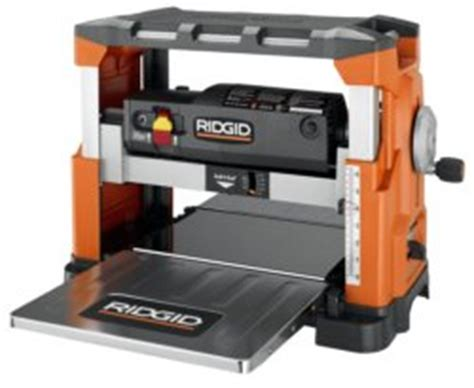 Ridgid Planer Reviews R4330 Benchtop Planer And R888