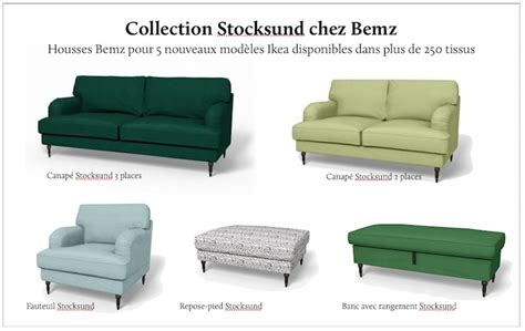 ik饌 canap駸 bemz habille la collection stocksund d ikea ikeaddict
