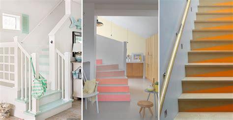 librerie poco profonde idee creative per decorare le scale con pattern colori e