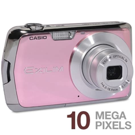 Casio Exilim Ex Z1050 10 Megapixel Pink Digicam by Casio Exilim Ex S5 Digital 10 1 Megapixels 3x