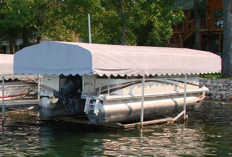 porta dock boat lift canopies boatcovers - Vibo Boat Lift Canopy Covers