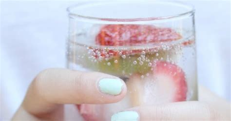 Detox Water With Frozen Fruit by Frozen Fruit Detox Cubes Crafts A La Mode
