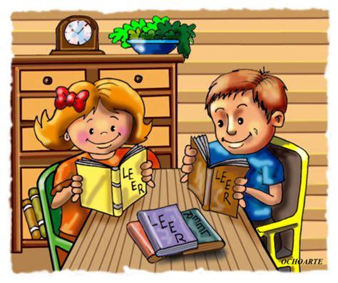 imagenes de niños leyendo y escribiendo cuento de