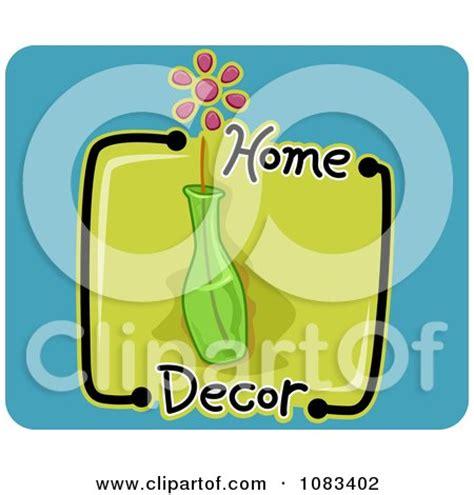 clipart home decor vase icon royalty free vector